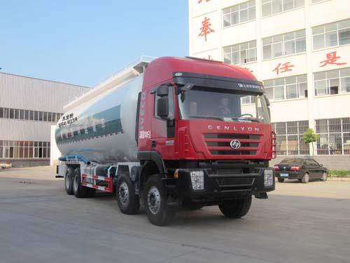 程力威牌CLQ5310GFL4CQ型低密度粉粒物料运输车