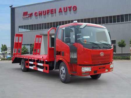 程力威牌CLQ5160TPB4CA型平板运输车