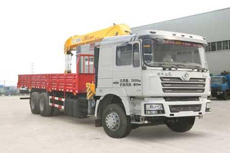 程力威牌CLQ5250JSQ4SX型随车起重运输车