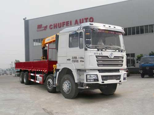 程力威牌CLQ5310JSQ4SX型随车起重运输车