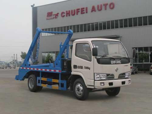程力威牌CLQ5070ZBS4型摆臂式垃圾车